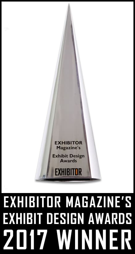 EXHIBITOR Magazine's 31st Annual EXHIBIT DESIGN AWARD