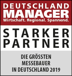 atelier damböck among the top 20 trade fair constructors in Germany