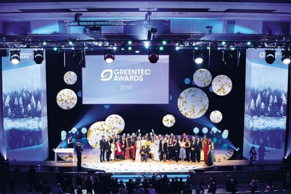 atelier damböck sponsors the GreenTec Awards