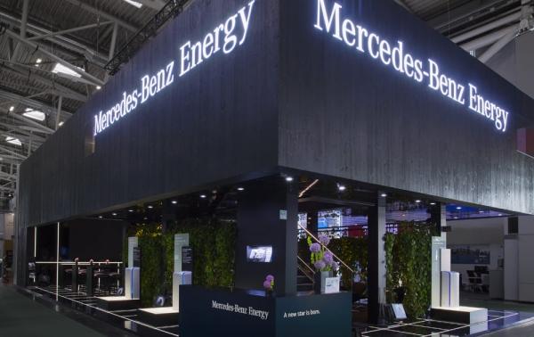 Mercedes-Benz Energy - Intersolar, Munich
